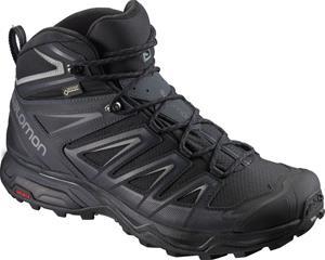 Salomon X Ultra 3 Wide Mid GTX Miehet kengät , musta