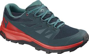 Salomon OUTline GTX Miehet kengät , punainen/petrooli