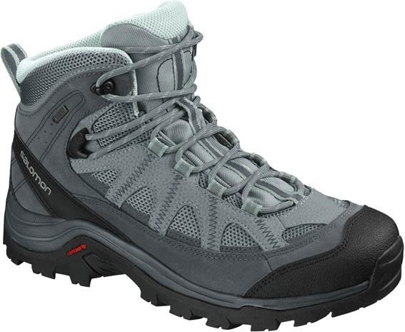 Salomon Authentic LTR GTX Naiset kengät , harmaa