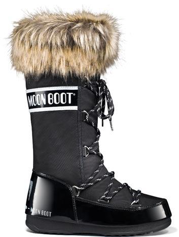 Moon Boot W.E. Monaco WP Naiset saappaat , musta