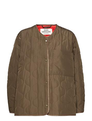 Mads Nä¸rgaard Ripstop Quilt Colina ARMY BROWN