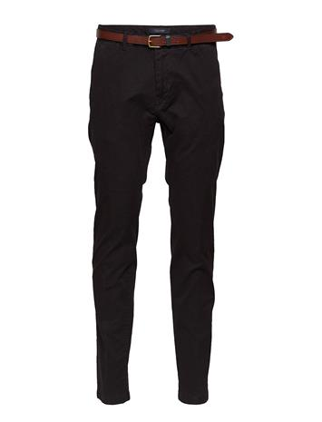Scotch & Soda Stuart - Classic Garment-Dyed Chino BLACK