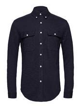 Knowledge Cotton Apparel Slope Jersey Shirt - Gots TOTAL ECLIPSE