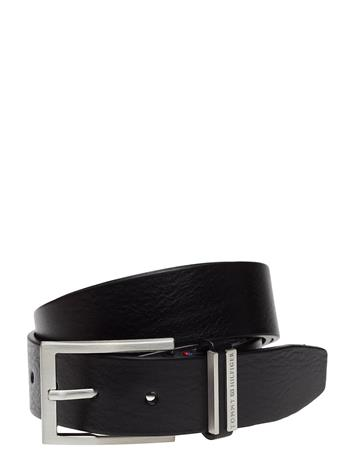 Tommy Hilfiger Clamp Keeper Belt 3.5 BLACK