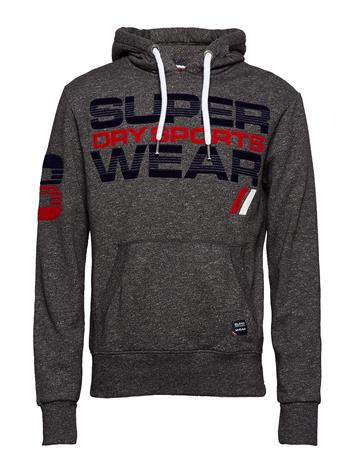 Superdry Sport Sportwear Speed Hood DARK GREY MEGA GRIT
