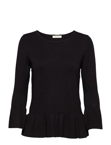 Betty Barclay Knitted Pullover Short 3/4 Sle BLACK