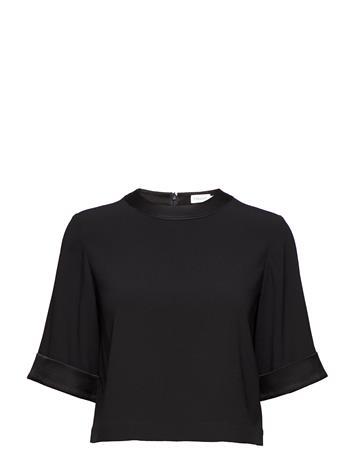 Filippa K Cropped Top BLACK