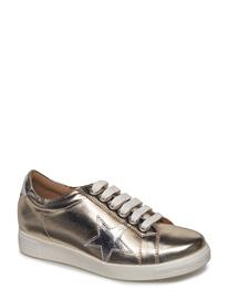 Dune London Edris GOLD-LEATHER