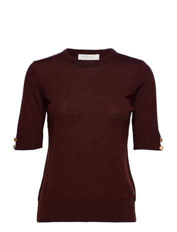 BUSNEL Lucca Top BURGUNDY