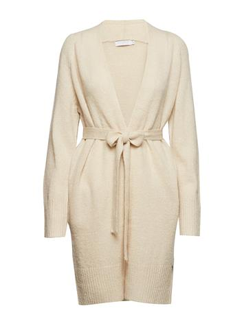 Coster Copenhagen Long Cardigan In Mohair Knit W. Bel OFF WHITE