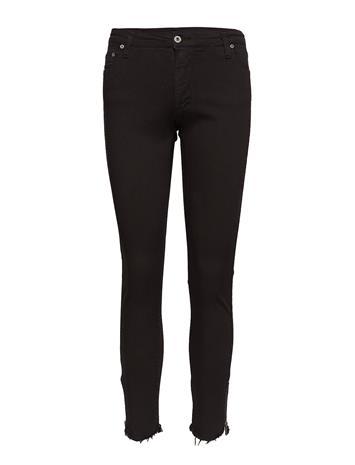Please Jeans Catwoman Zipper Cototn NERO