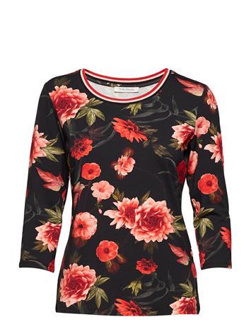 Betty Barclay Shirt Short 3/4 Sleeve BLACK/RED