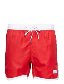 Frank Dandy St Paul Long Bermuda Shorts RED
