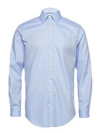 Lindbergh Small Structure Shirt L/S LIGHT BLUE