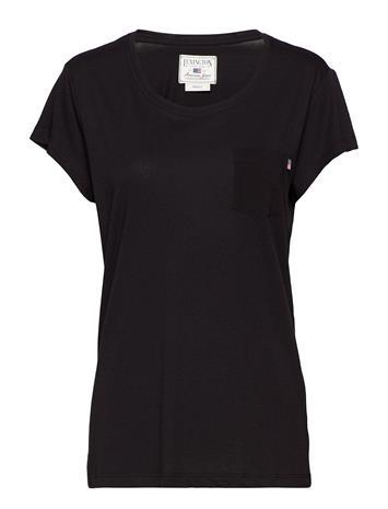 Lexington Clothing Ashley Jersey Tee CAVIAR BLACK