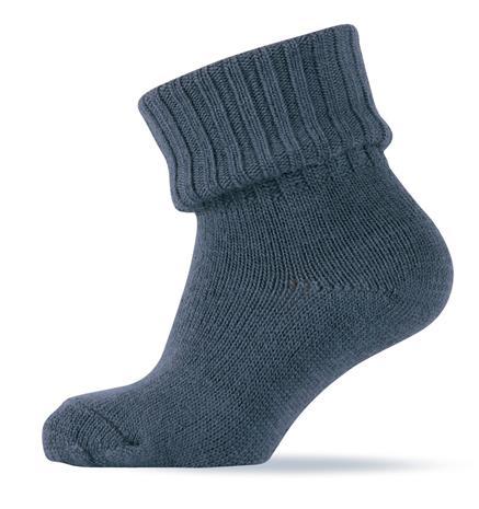 Melton - Basic Wool Sock w. Rib Shaft