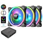 Thermaltake Riing Trio 12 LED RGB Radiator Fan TT Premium Edition (3-Fan Pack), 3 kotelotuuletinta + ohjain