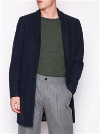 Selected Homme Slhbrove Wool Coat B Noos Takit Tummansininen