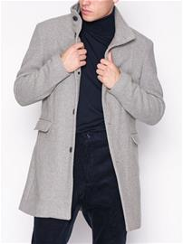 Selected Homme Slhmosto Wool Coat B Takit Harmaa