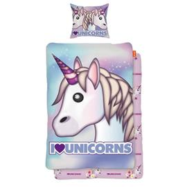 Emoji Pussilakanasetti Unicorn 150x210