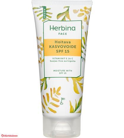 Herbina Face hoitava kasvovoide SPF15 50 ml