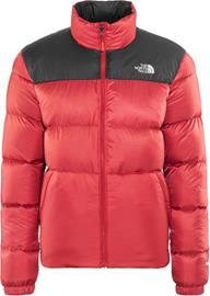 The North Face Nuptse III Miehet takki , punainen/musta