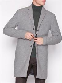 Selected Homme Slhbrove Wool Coat B Takit Harmaa