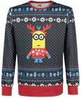 Minions Christmas Sweater Svetari monivärinen