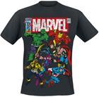 Marvel Team Up T-paita musta