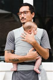 Baby On Earth Kantoliina, Raidallinen