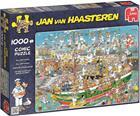 Jumbo Palapeli Jan van Haasteren Tall Ship Chaos 1000