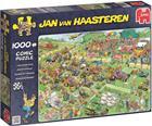 Jumbo Palapeli Jan van Haasteren Lawn Mower Race 1000