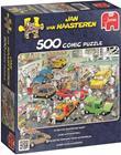 Jumbo Palapeli Jan van Haasteren Car Respraying shop 500