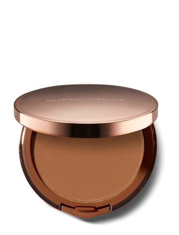 Nude by Nature Flawless Pressed Powder Foundation N9 Sandy Brown N9 SANDY BROWN