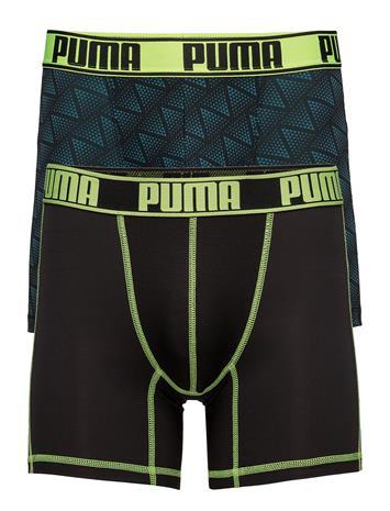 Puma Puma Active Zigzag Print Boxer 2p BLACK / YELLOW