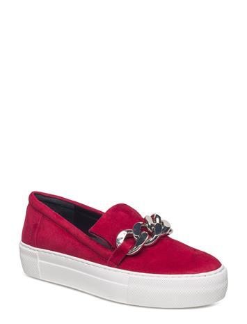 Billi Bi Shoes RED 1227 SUEDE 59