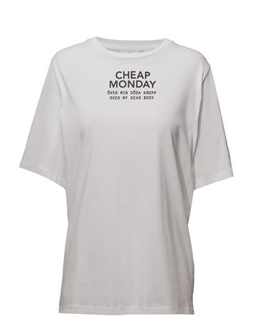 Cheap Monday Perfect Tee Chp Mnd Sender WHITE