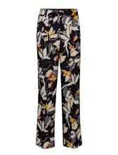 French Connection Aventine Drape Wide Leg Trsr UTILITY BLUE MULTI