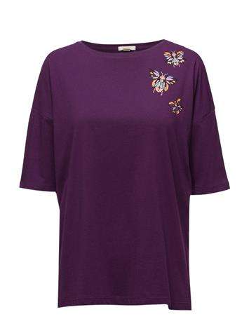 Esprit Casual T-Shirts PLUM RED