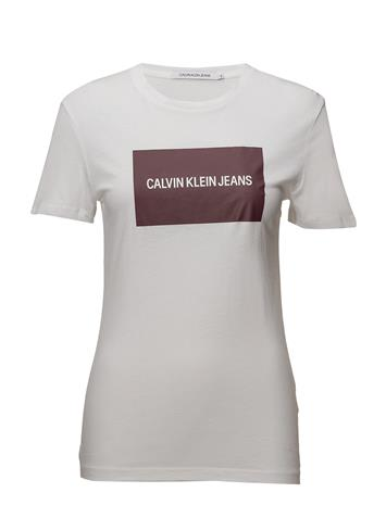 Calvin Klein Jeans Institutional Box Re BRIGHT WHITE | TAWNY PORT
