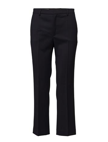 Filippa K Hudson Twill Cropped Trousers NAVY
