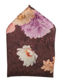 Eton Flower Design Print Pocket Square PINK/RED