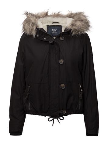 ONLY Onlpeyton Aw Short Fur Jacket Cc Otw BLACK