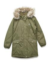 Hummel Hmlagnes Coat BURNT OLIVE