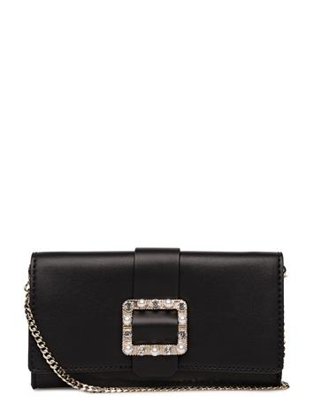 GUESS Ummer Night City Flap Clutch BLACK