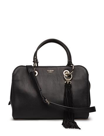 GUESS Ixie Satchel BLACK