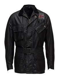 Barbour B.Intl Joshua Wax Jkt BLACK