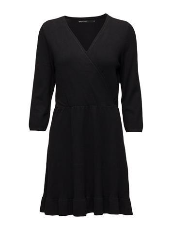ONLY Onlelsa 3/4 Dress Cc Knt BLACK