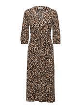InWear Siri Wrap Dress Kntg LEOPARD