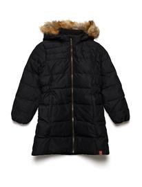 Mikk-Line Down Girls Coat BLACK